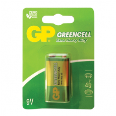 Batéria 9V GP GREENCELL 1604G 6F22